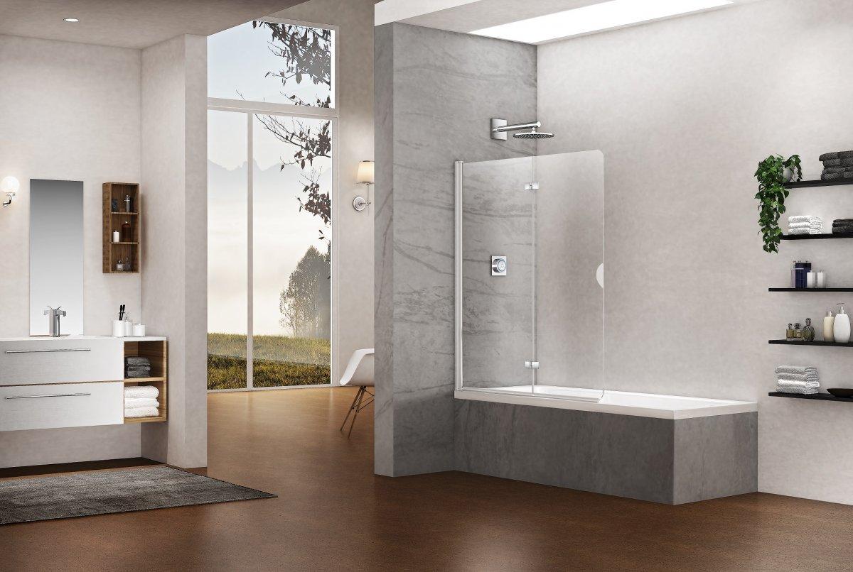 Badewannenfaltwand duschwand badewanne duka - Vasche da bagno eleganti ...