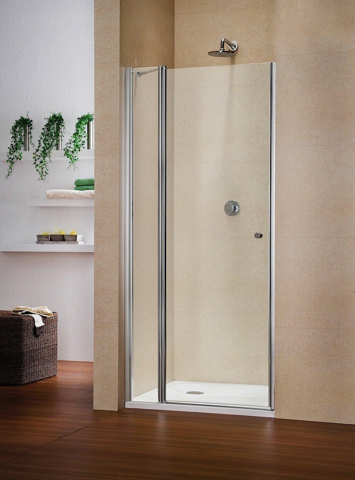 duscht r nische nischent r als duschabtrennung duka. Black Bedroom Furniture Sets. Home Design Ideas