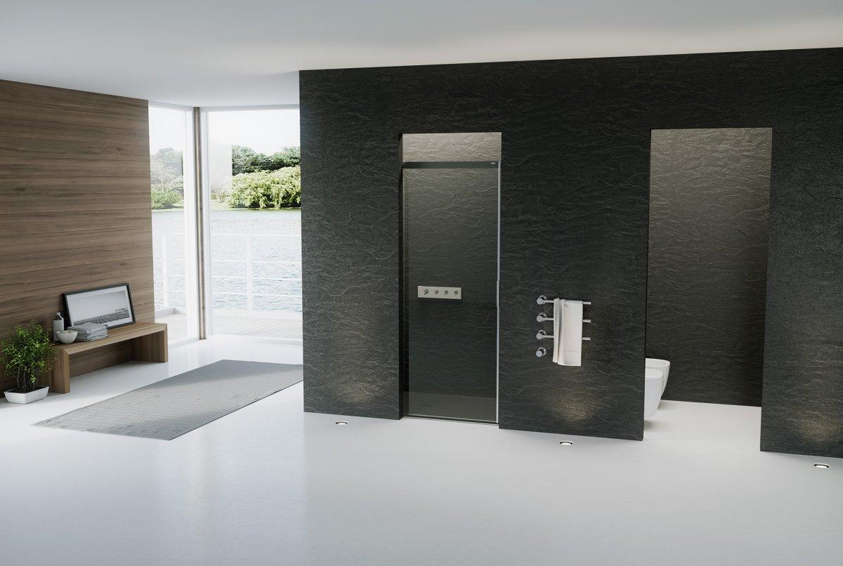 duschabtrennung schrage wand. Black Bedroom Furniture Sets. Home Design Ideas